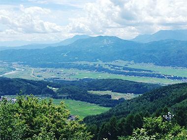 北信州飯山の景色