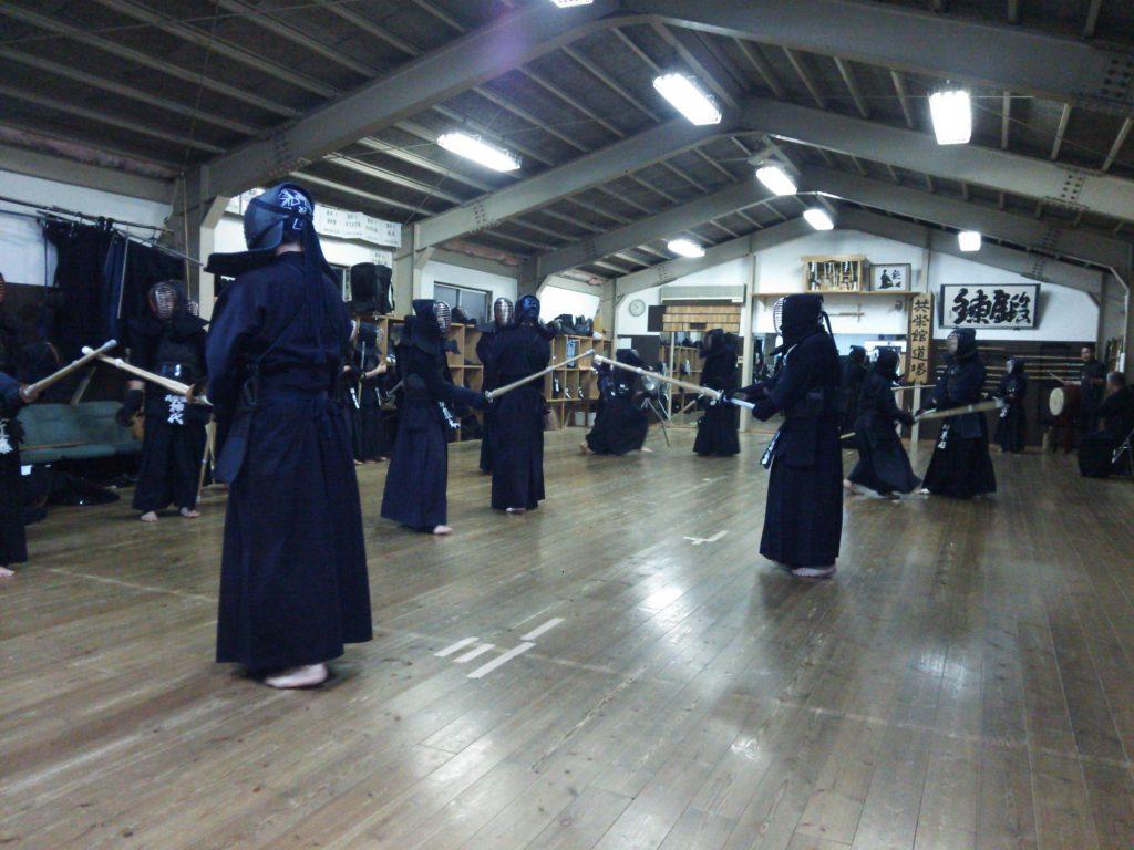 共栄館道場 剣道の稽古