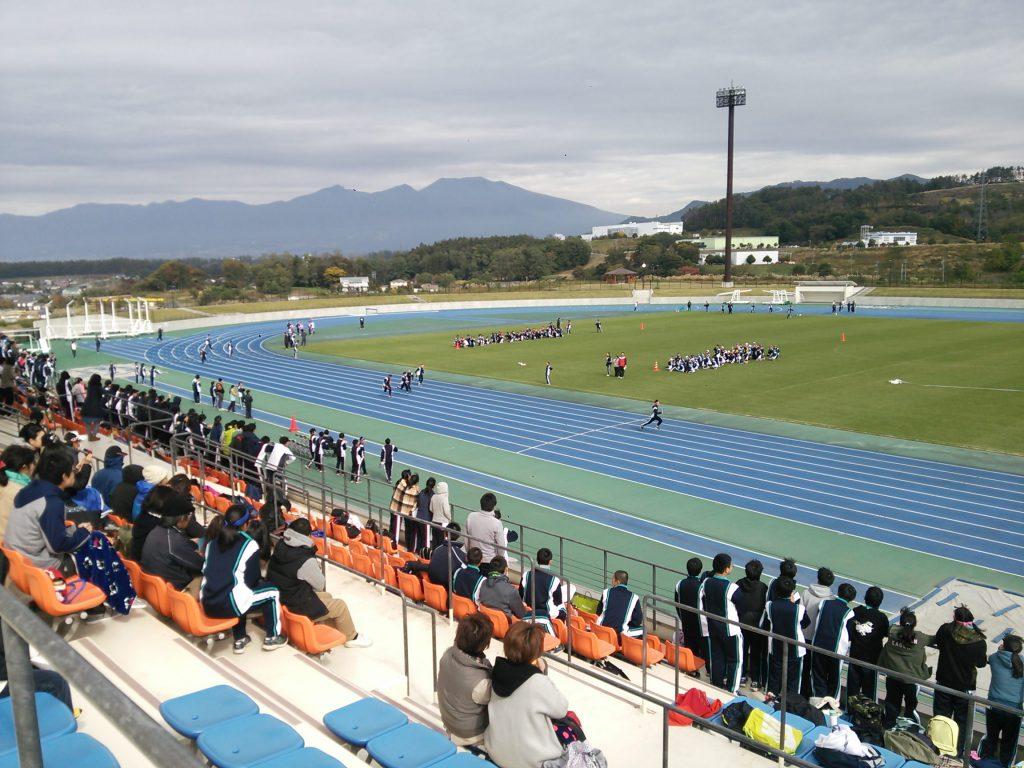 体育祭 佐久総合運動公園陸上競技場