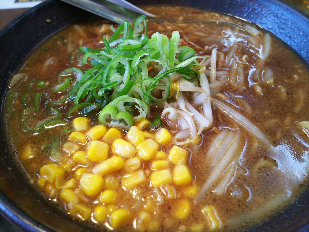ラーメン一信 黒味噌麺