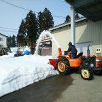 トラクター除雪機
