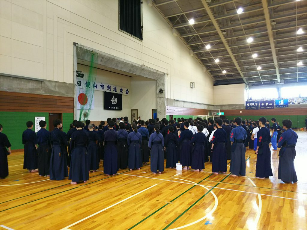 開会式 第52回飯山市剣道大会