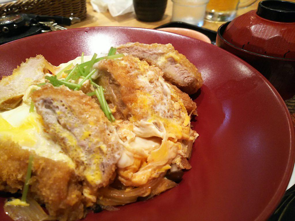 四元豚のヒレかつ丼 大戸屋