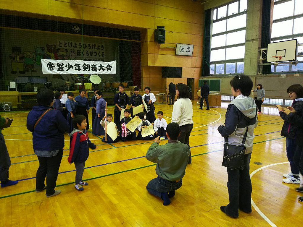 常盤少年剣道大会
