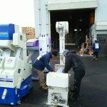 ライスセンター籾摺り機器