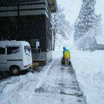 精米所前の除雪