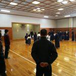 飯山剣道連盟鏡開き