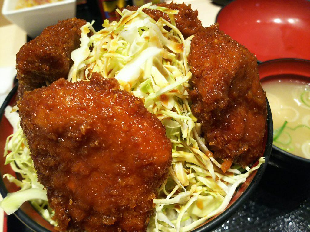 明治亭ソースかづ丼
