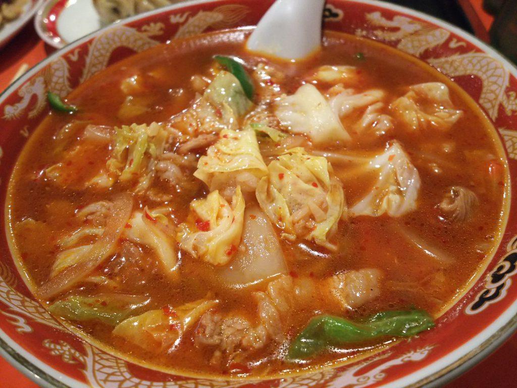 宏吉楼 ニンニク唐がらし麺