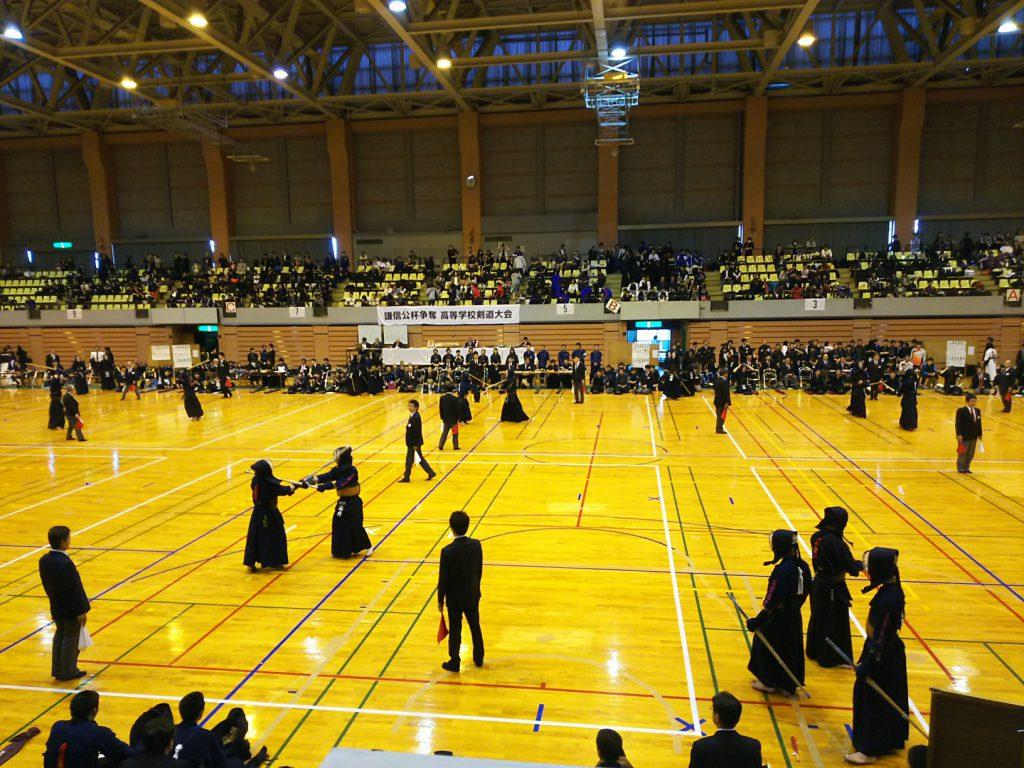 謙信公杯高等学校剣道大会
