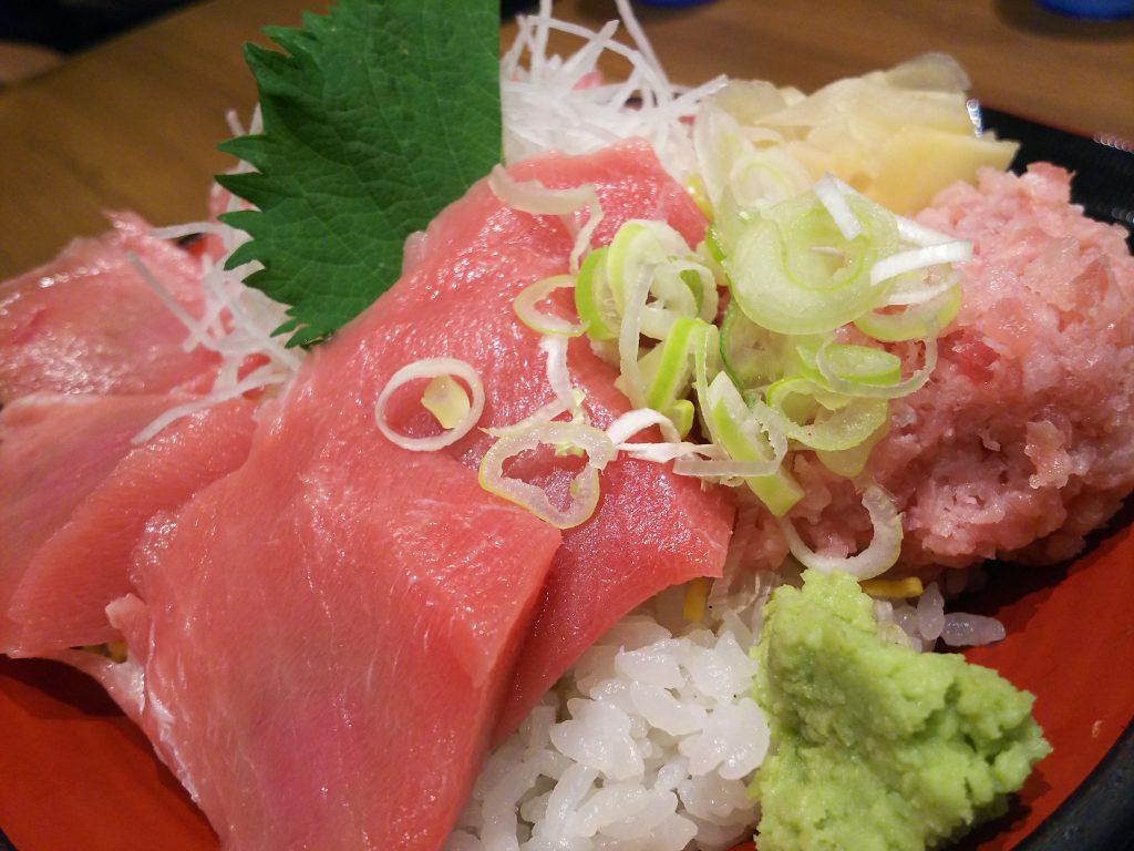 魚菜屋 本マグロ中トロ丼