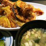 ランチ天丼 海鮮八風