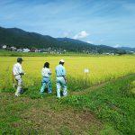 環境jにやさしい農産物 現地確認
