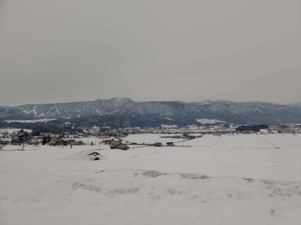 田んぼのある風景