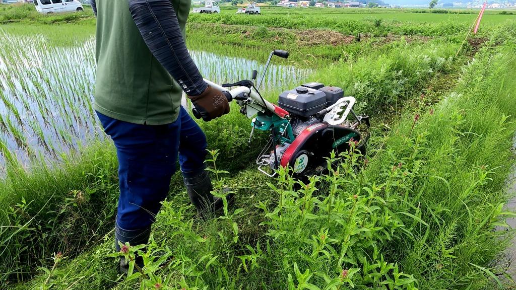 自走式草刈り機